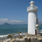 Lighthouse of the cape of Irago