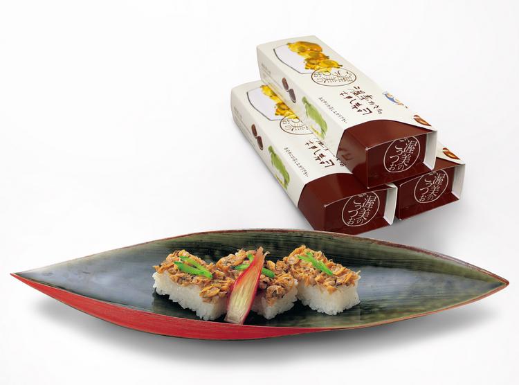 あさりの押し寿司