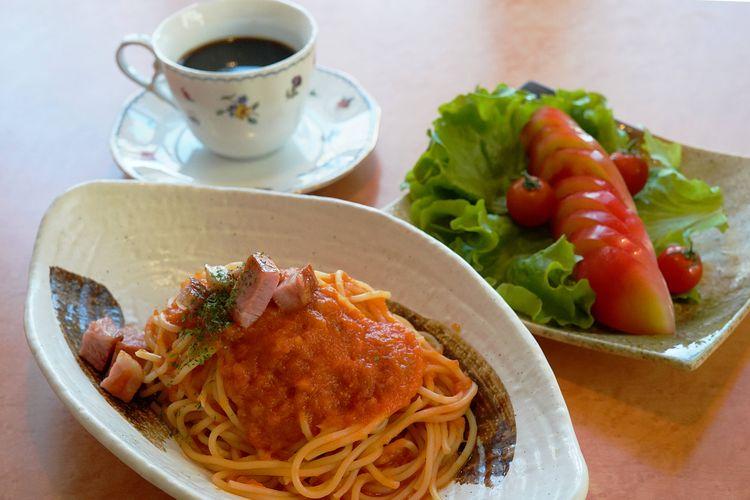 収穫したトマトを使った料理